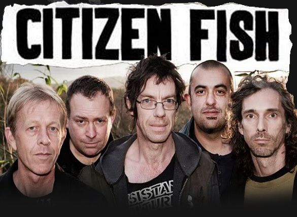 CITIZEN FISH (U.K.) + 5FINGER DISCOUNTS (Praha) + LUMPENPROLETARIAT